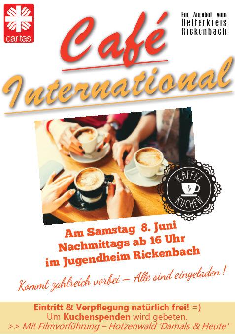Café International 08.06.2019