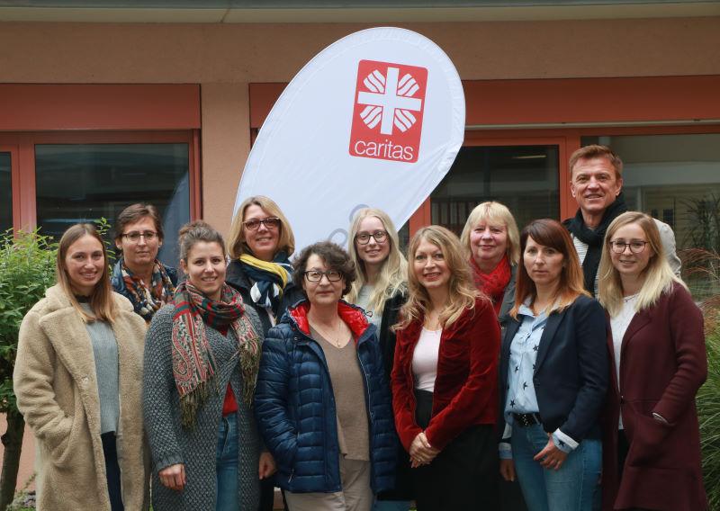 Das Caritassozialdienst-Team 2019