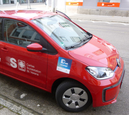 E-Auto Sozialstation